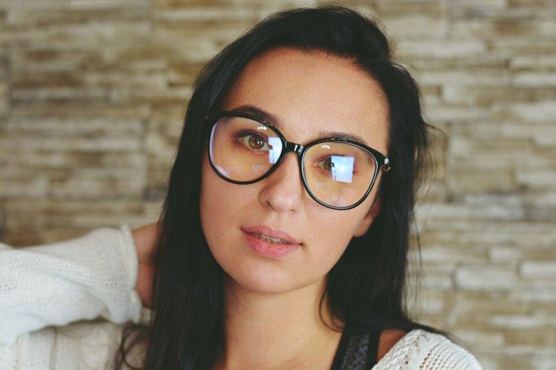 Agnes - Okulary do pracy przy komputerze - Czarne