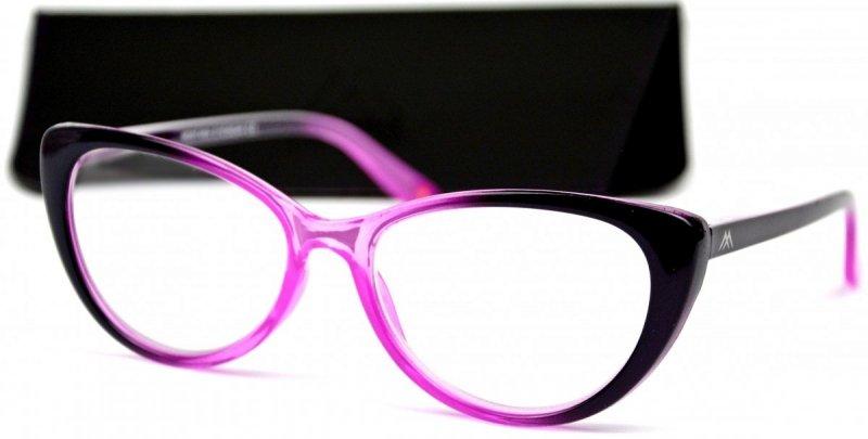 Betty +1,5 - Okulary Korekcyjne - Różowe