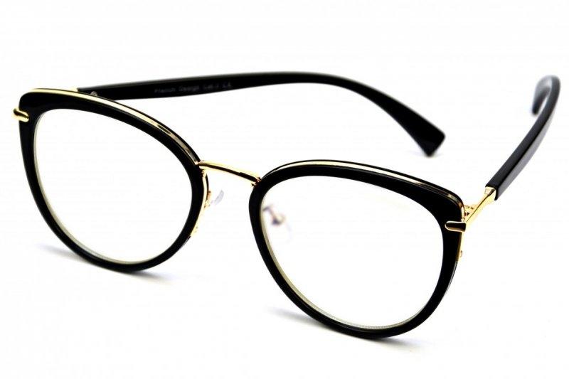 Adele - Okulary do pracy przy komputerze - Czarno-Złote