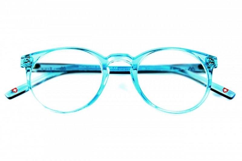 Amber +1,5 - Okulary Korekcyjne - Turkusowe