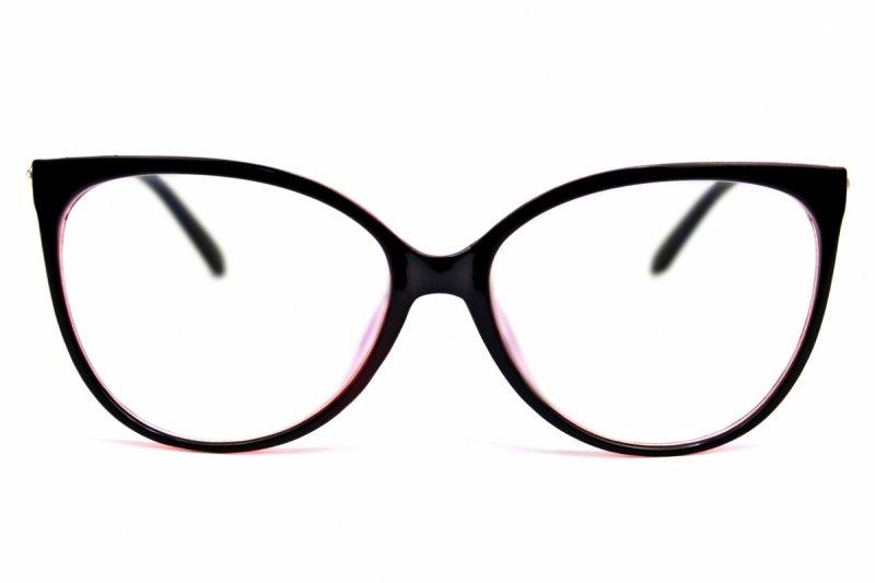 Elizabeth - Okulary do pracy przy komputerze - Czarno-Różowe
