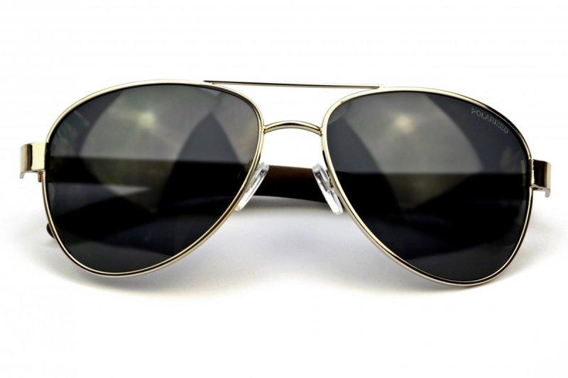 Texas - Okulary Polaryzacyjne - Srebrno-Czarne