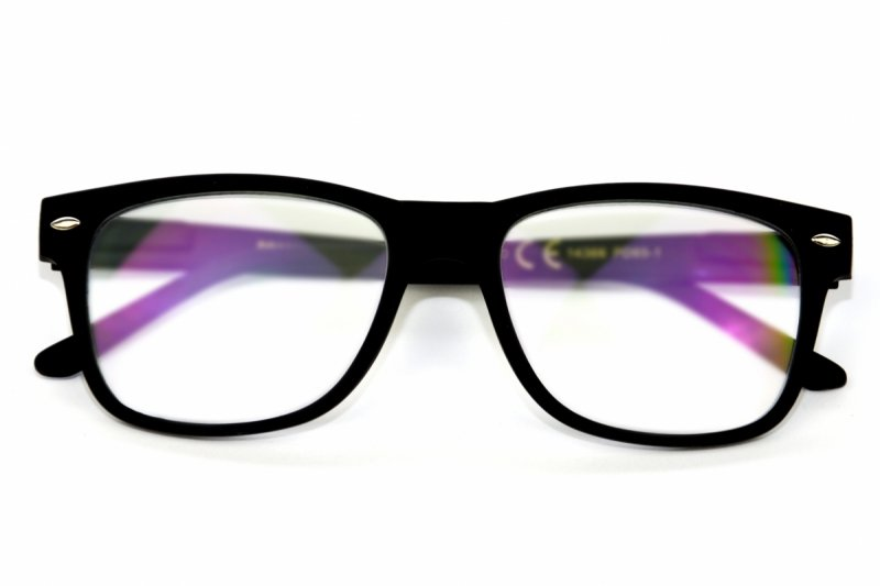 Black Laguna +2,0 - Okulary Korekcyjne z Antyrefleksem