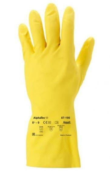 RĘKAWICE GUMOWE ANSELL ALPHATEC 87-190 ROZMIAR M
