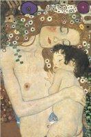 Gustav Klimt Mother and Child - plakat