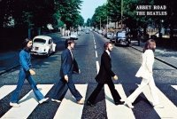 The Beatles Abbey Road - plakat