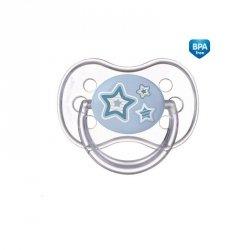 Smoczek silikonowy okrągły 18m+ newborn