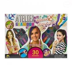 Atelier glamour kolorowe włosy 30 elementów