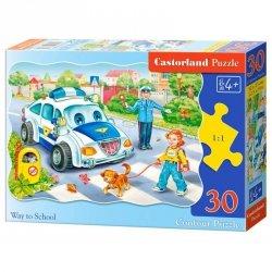 Puzzle 30 el. way to school