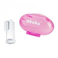 Szczoteczka silikonowa pink