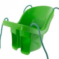 Huśtawka kubełkowa zielony