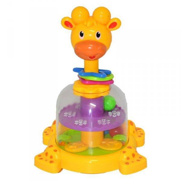 Zabawka piramida żyrafa