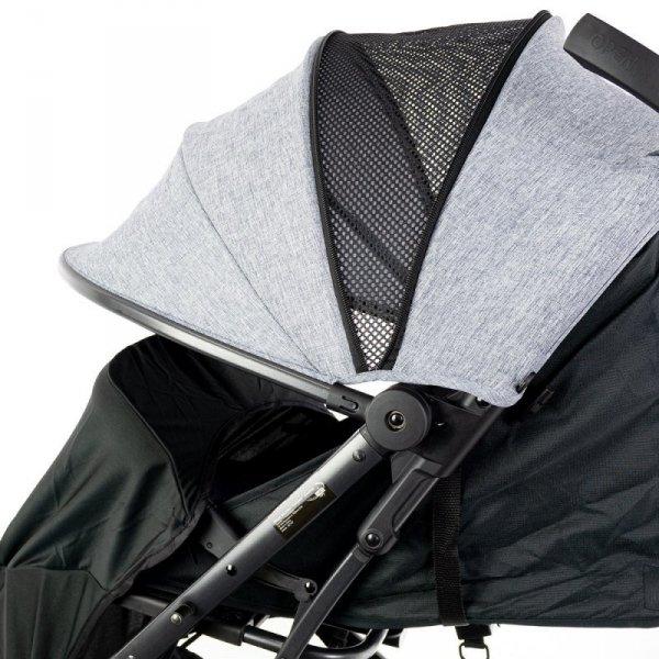 Wózek dla dzieci compact walizka blue