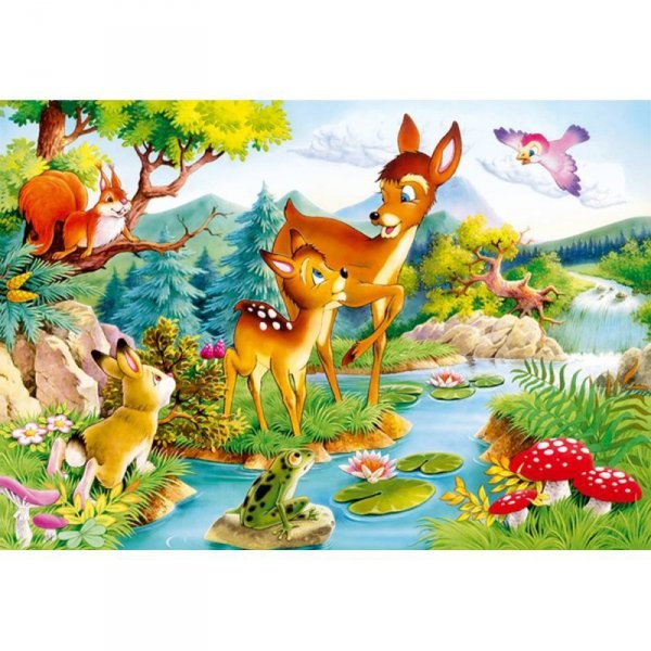 PUZZLE 120EL. LITTLE DEER