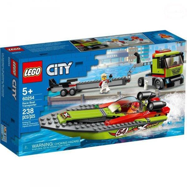 City transporter łodzi wyścig.
