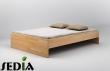 Łóżko drewniane - Agat