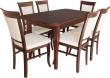 Stół Bergam 2 + 6 krzeseł Bronson 1