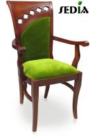 Krzesło z podłokietnikiem - Wenecja
