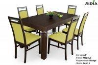Stół Ursyd + 6 krzeseł Magnus