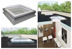 Fakro Okno do dachu płaskiego DXC-C P2 kopuła transparentna, Ug=1,1 W/m²K nieotwierane