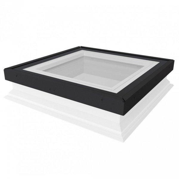 Fakro Okno do płaskiego dachu DXG P2 U=0,92 W/m²K, nieotwierane z płaskim segmentem szklanym