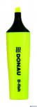 Zakreślacz DONAU żółty 7358001PL-11