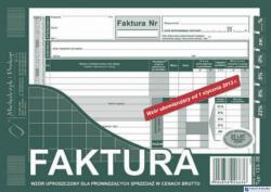 123-3E Faktura VAT MICHALCZYK&PROKOP 2/3 A5 80 kartek