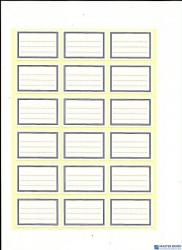 Naklejki na zeszyt duże(20ark) Wzór III ART-DRUK