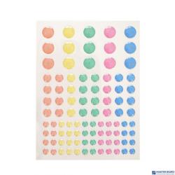 Kropki samoprzylepne pastelowe 95el. INCOOD 0037-0103