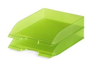 BASIC tacka na dokumenty A4, zielona-przezroc zysta 1701673017 DURABLE