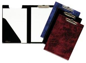 Clipboard A4 z okładką, de Luxe, PCV Niebie ski 235506 DURABLE