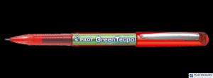 Cienkopis kulkowy GREENTECPOINT BG czerwony BX-GR5-R-BG PILOT
