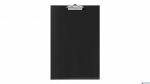 Deska clip A3 czarna BIURFOL