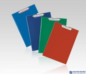 Deska A6 klip czerwona KH-02-04 BIURFOL