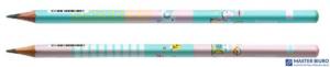 Ołówek trójkątny STORY HB (72 szt.) w kubku HA 3110 01MZ HAPPY COLOR
