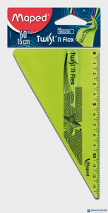 Ekierka niełamliwa TWISTN FLEX 15cm 279410 MAPED