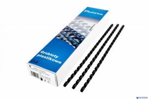 Grzbiet do bindowania DATURA 25mm (50szt) czarny