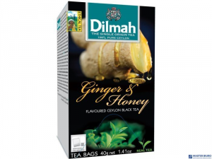 Herbata DILMAH AROMAT IMBIR&MIÓD 20t*1,5g