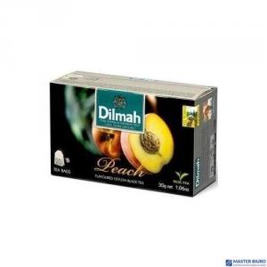Herbata DILMAH AROMAT BRZOSKWINIA (20 saszetek)