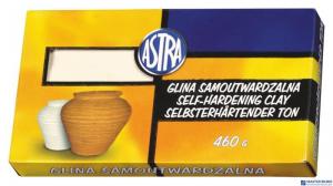 Glina samoutwardzalna biała 0.46kg ASTRA 83810908