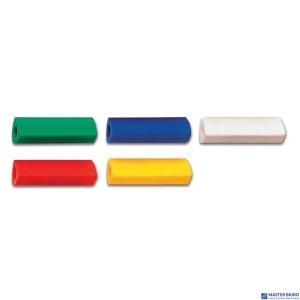 Gumka Nakładka Trójkątna Mix kolorów FABER-CASTELL 185205 FC