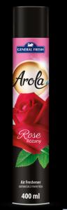 Odświeżacz powietrza AROLA Spray 400ml róża GENERAL FRESH