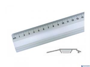 Linijka biurowa 30cm 30071 LENIAR