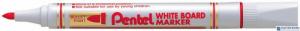 Marker do tablic PENTEL czerwony MW85B okrągła końcówka dł.linii 250 m