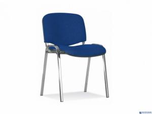 Krzesło konferencyjne ISO chrome CU-6 niebieskie