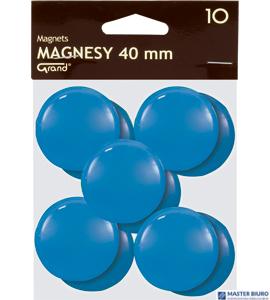 Magnesy 40mm GRAND niebieskie(10)^ 130-1702