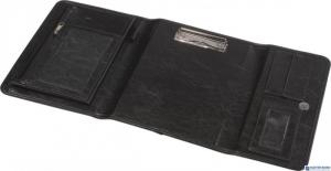 Teczka kierowcy A5 ekoskóra czarna 0317-0013-01 PANTA PLAST