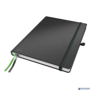 Notatnik LEITZ Complete A4 80k czarny w kratkę 44710095