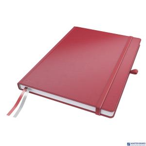 Notatnik LEITZ Complete A4 80k czerwony w linie 44720025