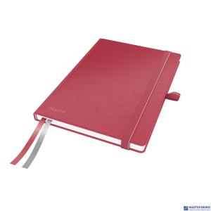 Notatnik LEITZ Complete A5 80k czerwony w linie 44780025